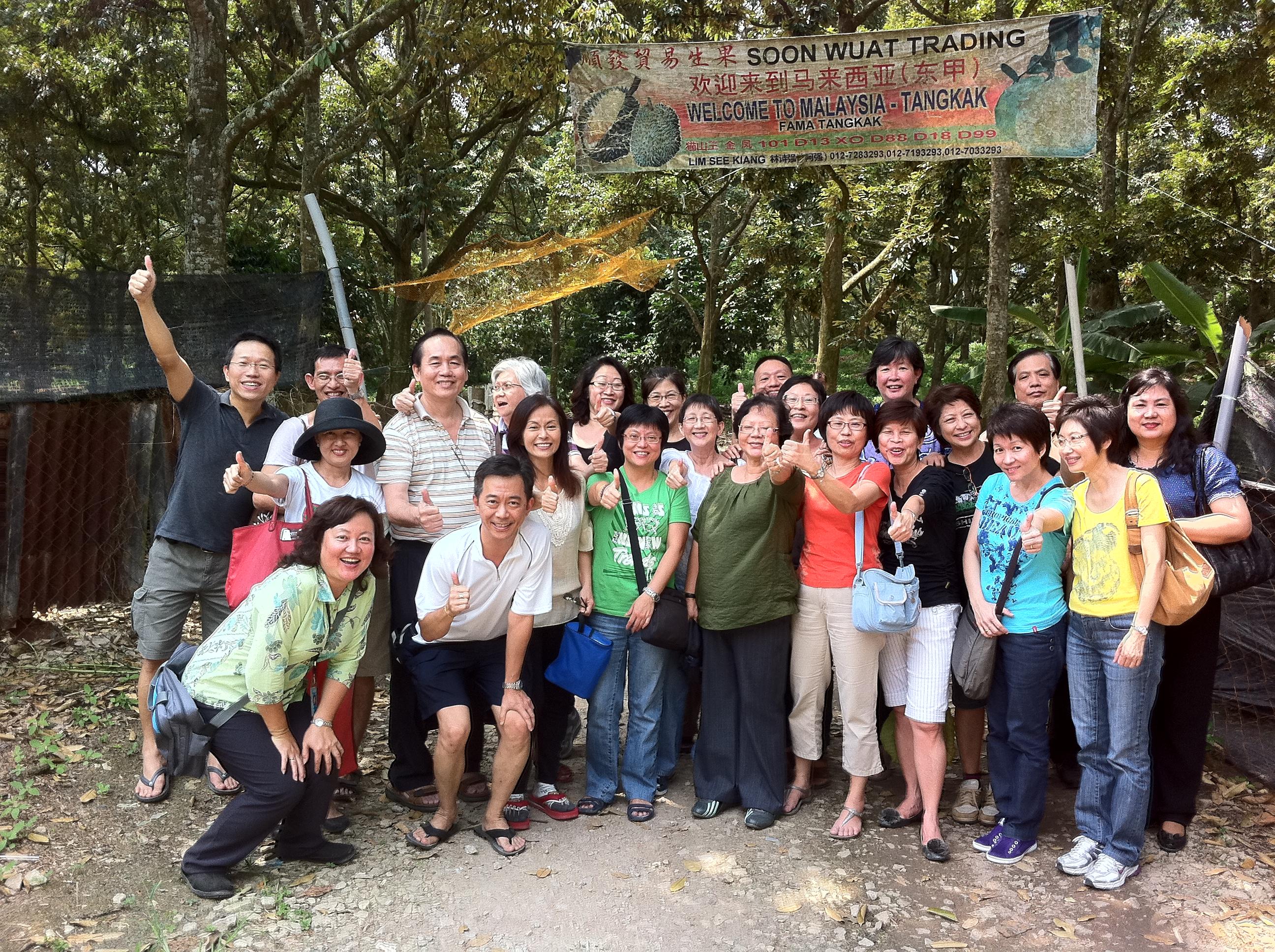 Durian at Tangkak