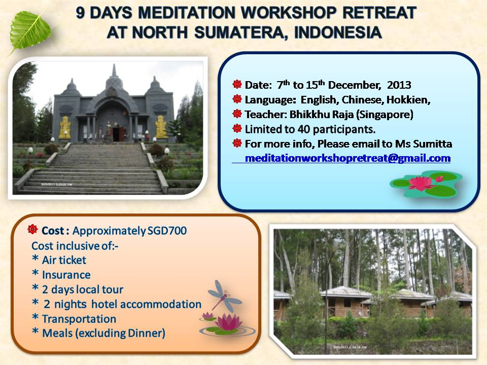 9 Days Meditation Workshop Retreat